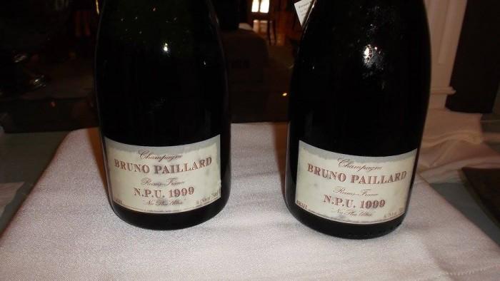 Champagne Bruno Paillard NPU 1999