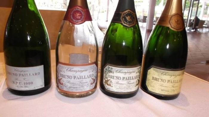 Champagne Bruno Paillard, le quattro etichette degustate