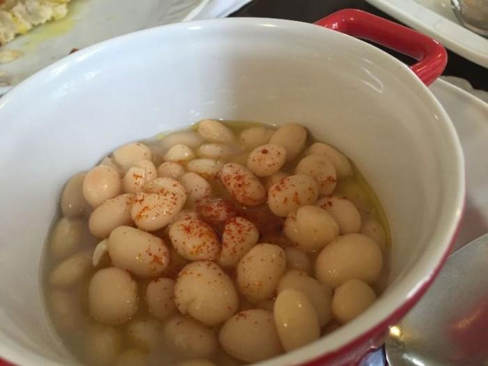 Da Peppe a Rotonda, zuppa di fagioli bianchi e polvere di crusco