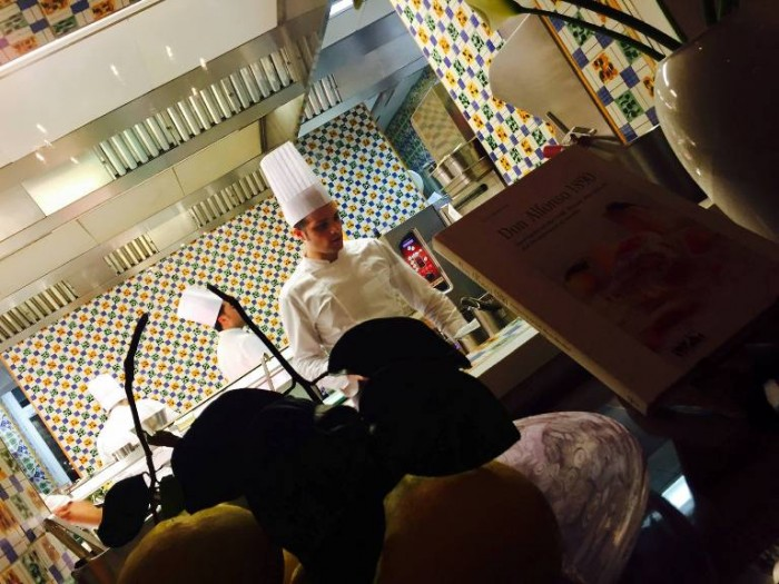 Don Alfonso, la cucina
