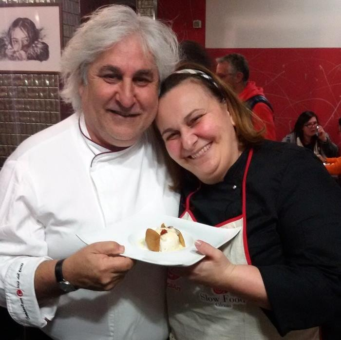 Enzo Crivella con Helga Liberto