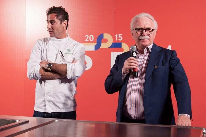 Ernesto Iaccarino con Guido Barendson