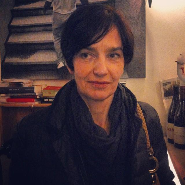 Germana Punset produttrice dello zafferano di Lacedonia Agripiantel