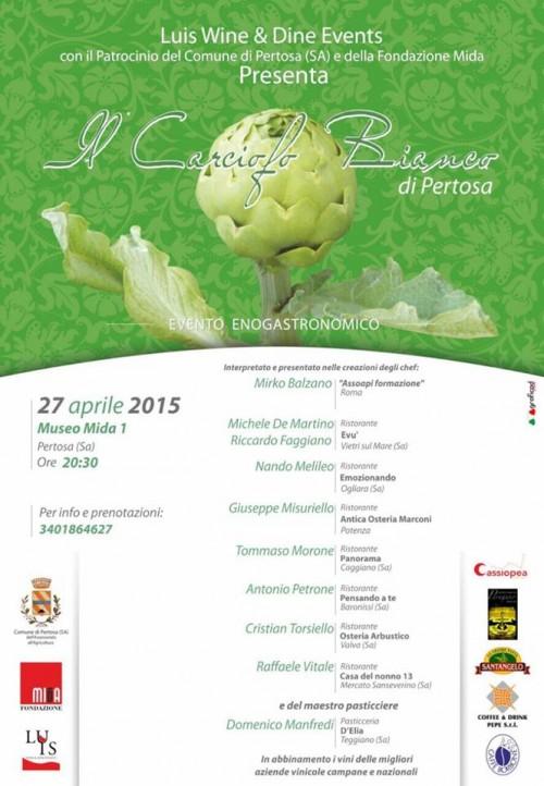 Il 27 aprile a Pertosa alla scoperta del Carciofo Bianco con visita alle Grotte e al Museo Multimediale MIdA 01