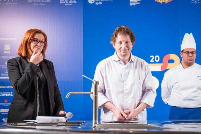 Jaques Genin con Eleonora Cozzella