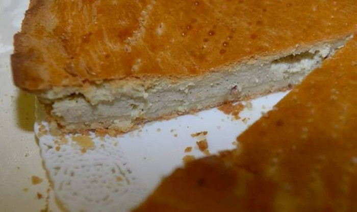 La pizza rustica della Masardona - foto di Luigi Savino