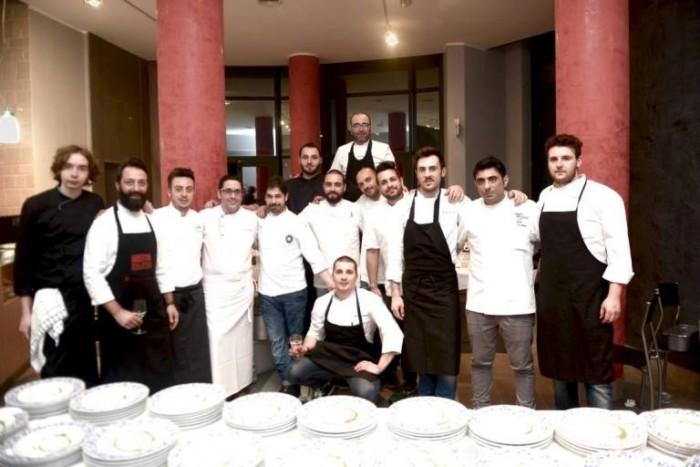 La serata dedicata al Carciofo Bianco di Pertosa, gli chef