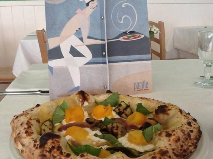 Le Parùle, la pizza Giagiù