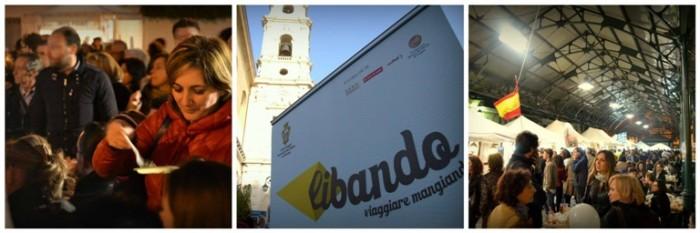 Libando (Piazza Mercato a Foggia, sulla dx)