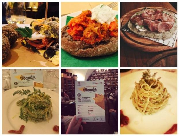 Libando, i piatti a cura degli Instagramers Foggia