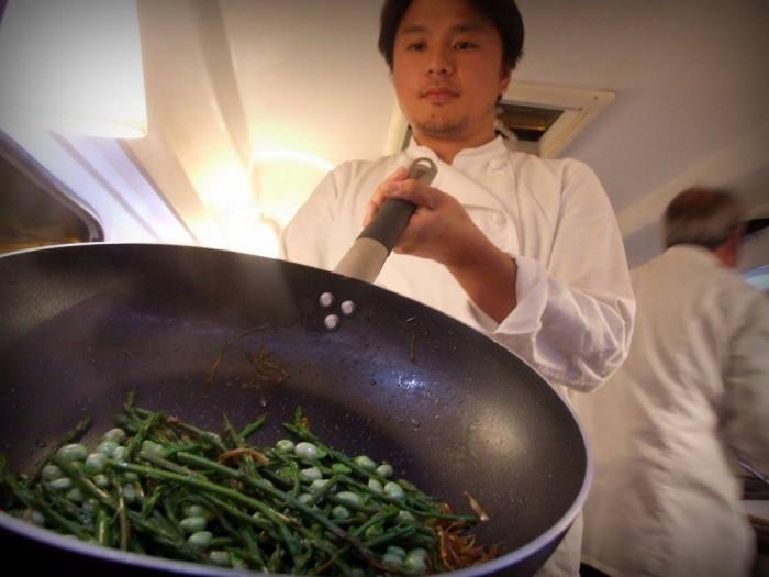 lo Show Cooking di Peppe Zullo e Tom