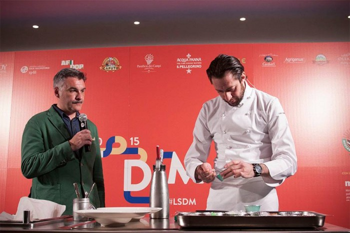 Luigi Taglienti con Alberto Cauzzi