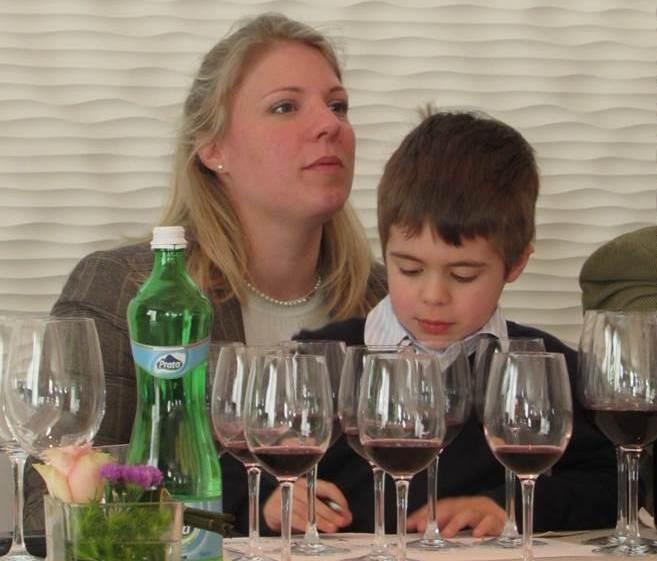 MIlena Pepe con il figlio Angelo