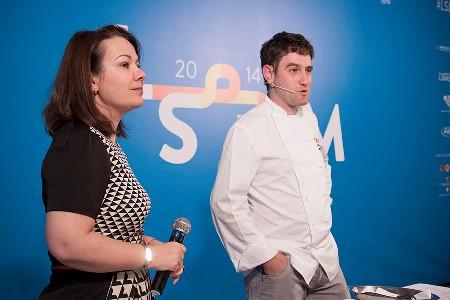 Maria Canabal e Josean Aljia a lsdm 2014