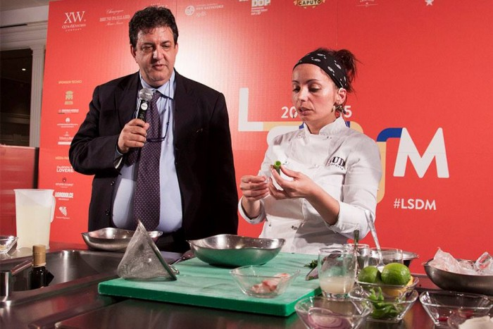 Marianna Vitale con Luciano Pignataro