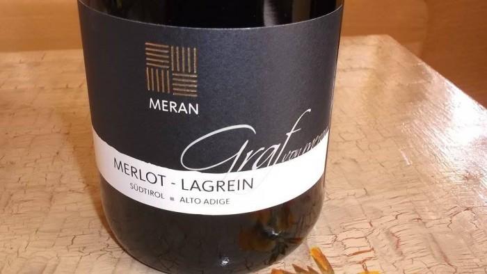 Merlot - Lagrein Graf Von Meran Sudtirol - Alto Adige Doc 2013 - Meran Burggrafler