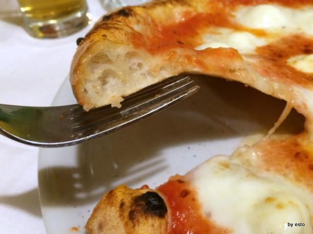 Napoli 1820 la struttura della pizza