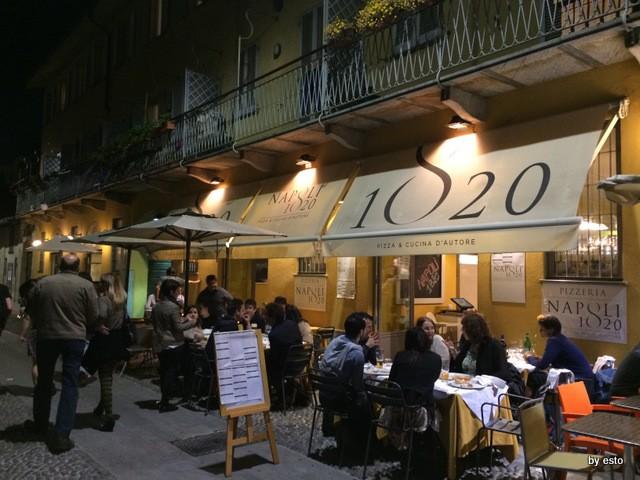 Napoli 1820 lungo il Naviglio Grande