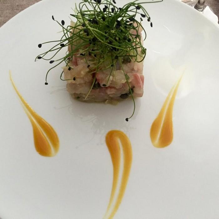 Napoli Mia, le tartare di pesce