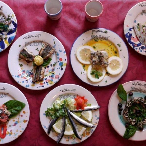 Paisà, piatti di pesce  - immagine tratta da www.agnonecilento.com