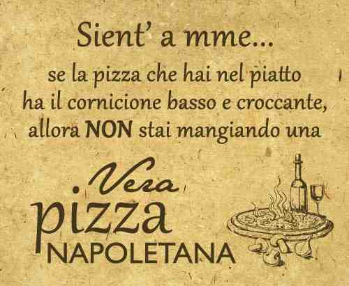 Pizza napoletana no integrale