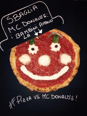 Pizza non panini McDonald's