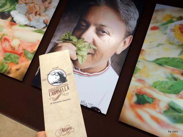 Pizzeria Carmnella. Vincenzo  Esposito rinnova il locale