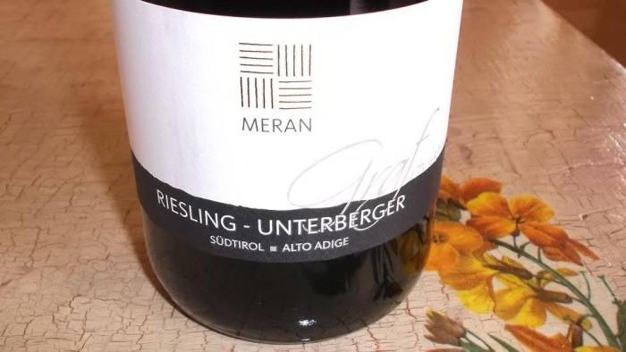 Riesling - Unterberger Graf Von Meran Sudtirol-Alto Adige Doc 2013 Burggrafler