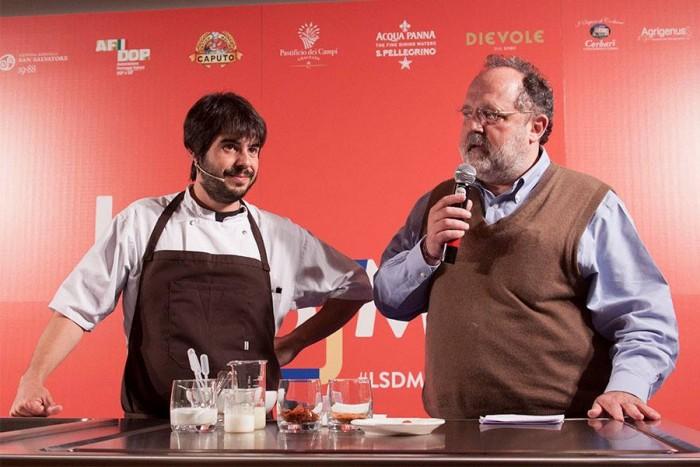 Roberto Flore con Paolo Marchi
