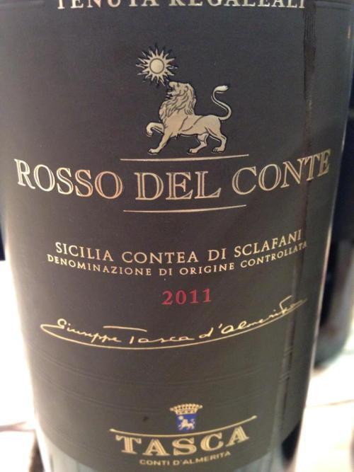 Rosso del Conte  2011 di Tasca d'Almerita