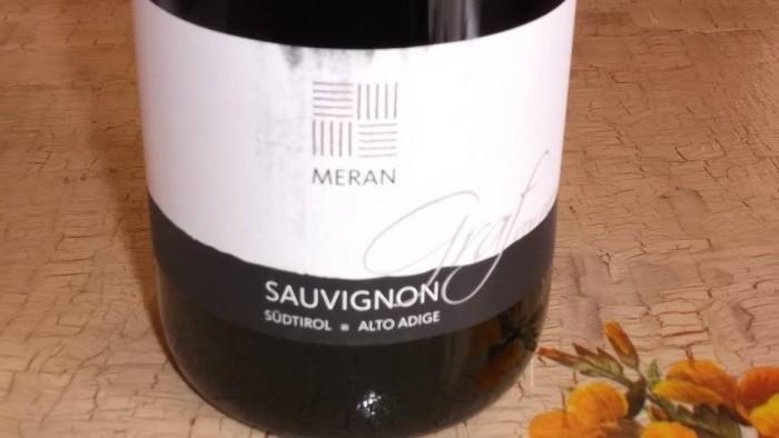 Sauvignon Graf Von Meran Sudtirol-Alto Adige Doc 2014 Burggrafler