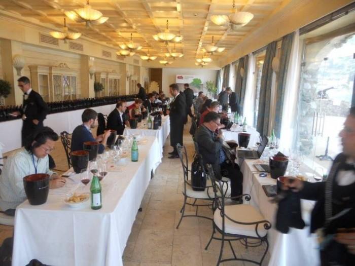 Sicilia en Primeur 2015, la sala degustazione