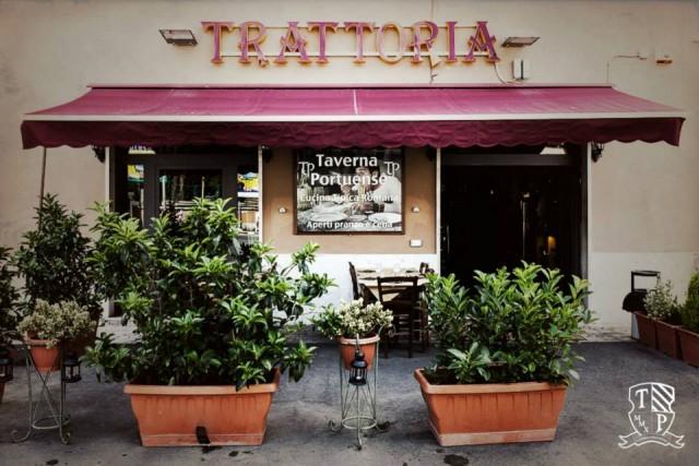 Taverna Portuense, l'ingresso