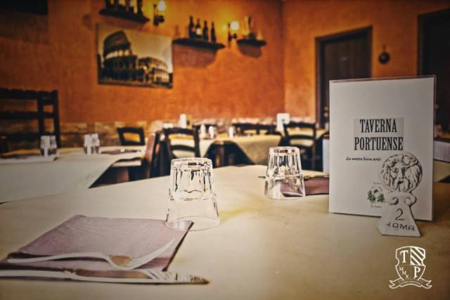 Taverna Portuense, la sala