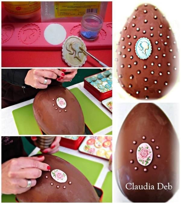 Tutorial decorazione uova di Pasqua