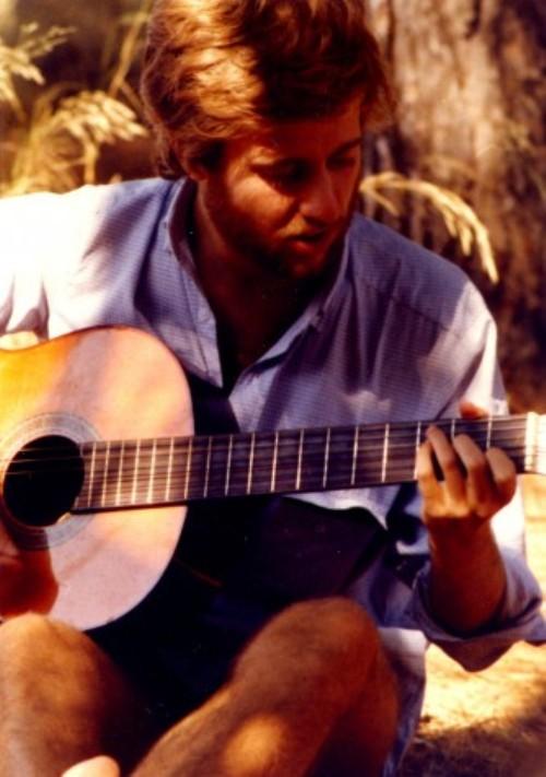 Un giovane Fabrizio Scarpato
