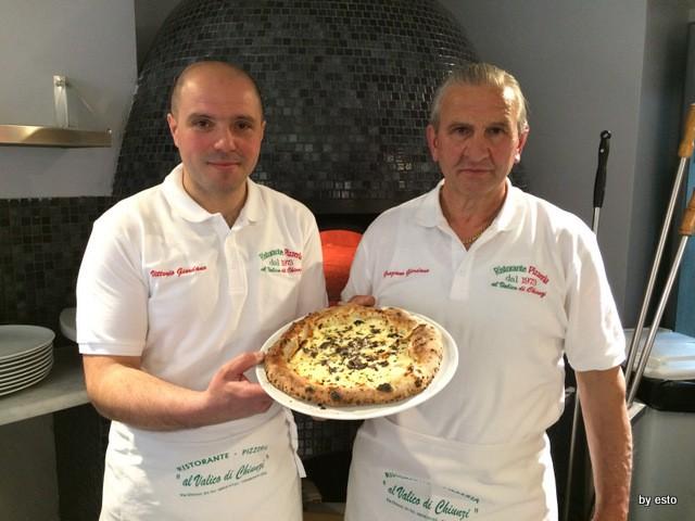Vittorio Giordano  Pizzeria Al Valico di Chiunzi  Tramonti d'Estate provola di Tramonti e tartufo estivo Scorzone dei Monti Lattari