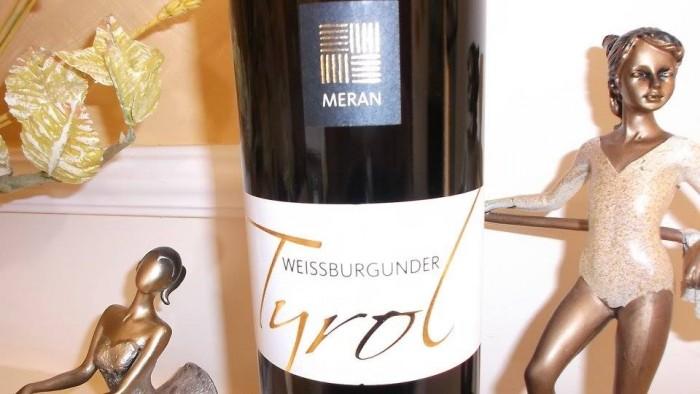 Weissburgunder Pinot Bianco Selezione Tyrol  SudTirol-Alto Adige Doc 2013 Burggrafler