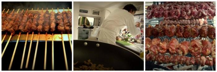 arrosticini abbruzzesi, gli Show Cooking e le bombette di Martinafranca