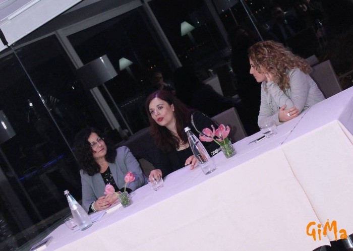 da sinistra: Tina Cacciaglia, Nunzia Gargano e Maria Manuela Russo