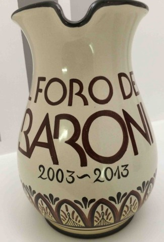 Il Foro dei Baroni, la ceramica dei primi 10 anni