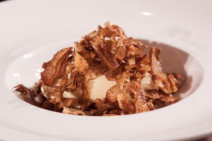 gelato alla vaniglia di Bo Bech