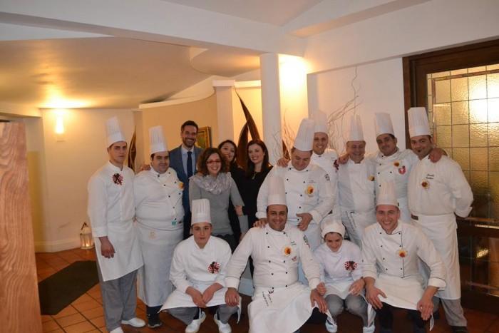 il gruppo di Chef al Buio