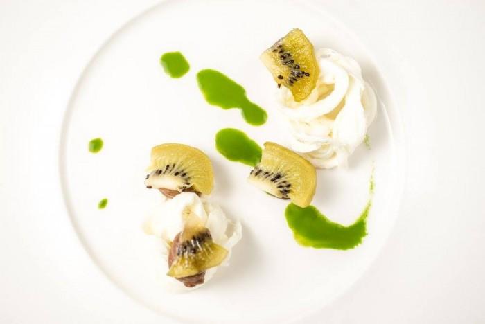 mozzarella, kiwi e sorgo di Piergiorgio Parini