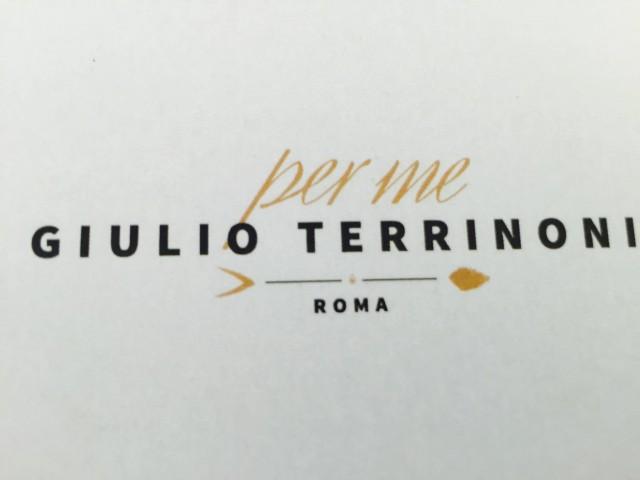per Me Giulio Terrinoni Roma