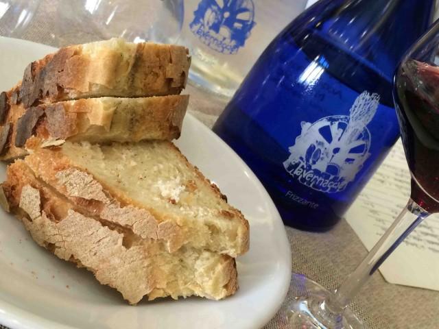 La Tavernaccia, il pane