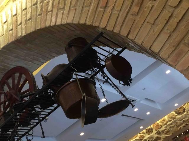 La Tavernaccia, scorcio del soffitto