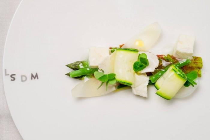 verdure croccanti e mozzarella di Paco Morales