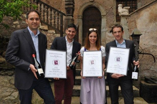 14ª edizione del Concorso nazionale del Pinot nero, i vincitori