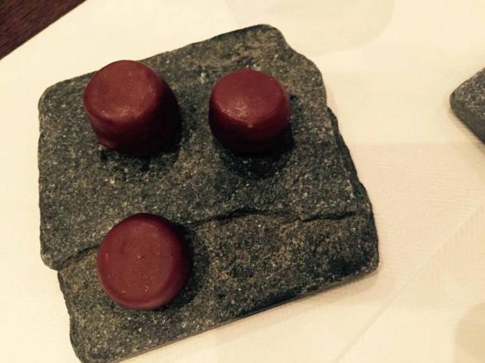 Abruzzino, cioccolatini finali